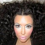 Kim Kardashian 'Channels Diana Ross' for Photo Shoot (Pics)