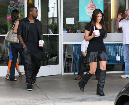kim kardashian-kanye-yogurt land-the jasmine brand