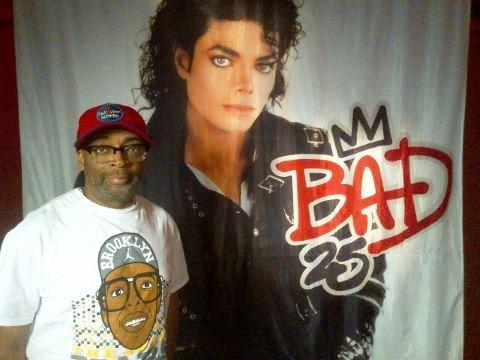 michae  jackson & spike lee