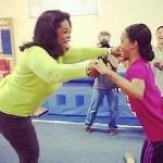 Morning Snaps: Gabby Douglas Teaches Oprah Gymanstics