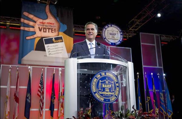 romney (at naacp)