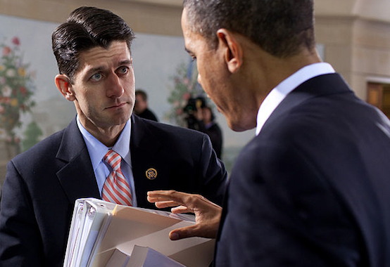 Paul Ryan, Barack Obama