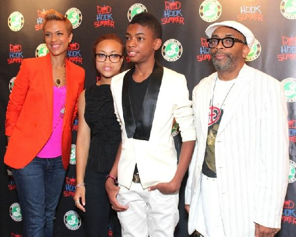 spike lee & family