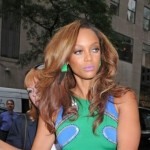 Morning Snaps! Tyra Banks Steps Out in Hip Hugging Dress