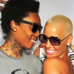 Wiz Khalifa Says Fiancee Amber Rose is NOT Pregnant