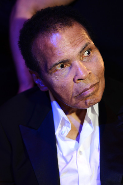 Muhammad Ali attends the Sports For Peace Fundraising Ball at The V&A on July 25, 2012 in London, England