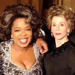 Oprah Posts 'Butler' Pic with Jane Fonda as Nancy Reagan