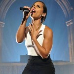 Alicia Keys Rocks MTV Gig In a Cathedral (Photos)