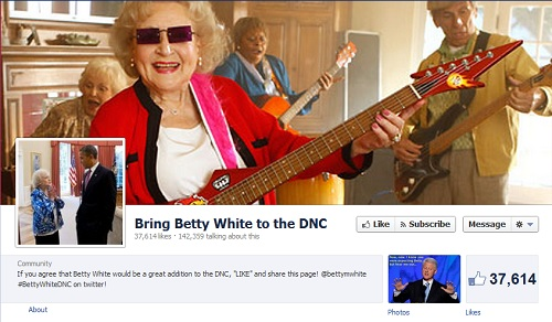 betty white for obama