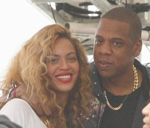 beyonce & jay-z (philly)
