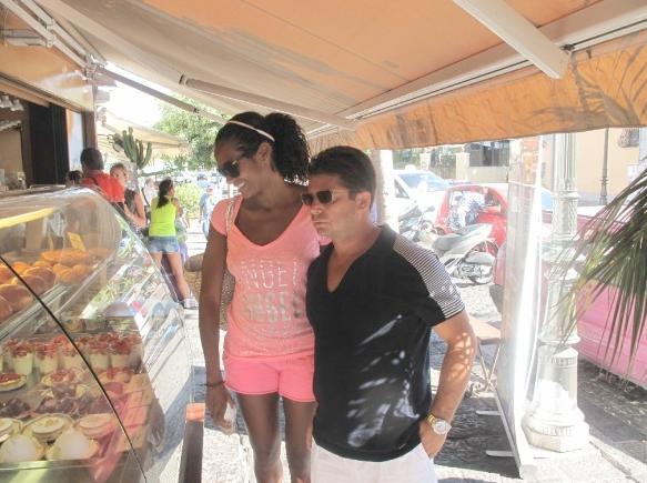 denny mendez & oscar generale shopping in italy
