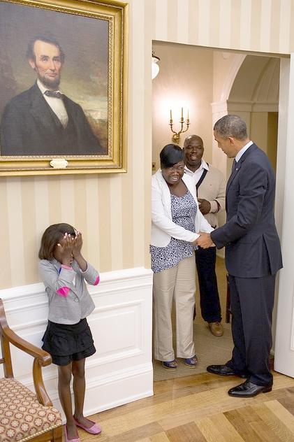 janiya penny meets obama