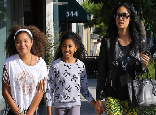 kimora lee simmons & daughters