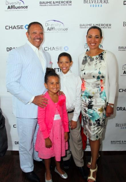 marc morial & family