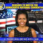 First Lady Gives Letterman 'Top 10 Reasons to Watch DNC' (Video)