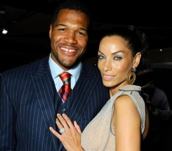 nicole murphy and fiance michael strahan