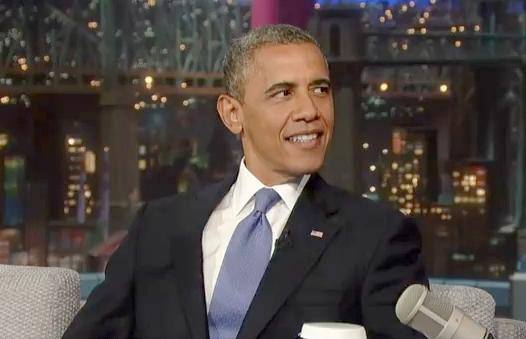 obama (on letterman)