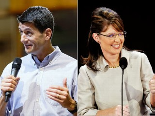 paul ryan & sarah palin