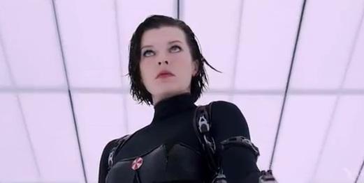 Milla Jovovich in 'Resident Evil 5'