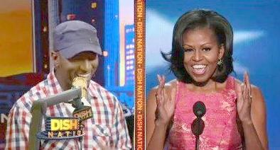 rickey smiley &michelle obama
