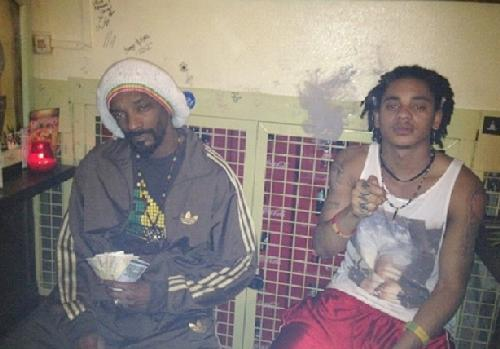 snoop lion & son corde
