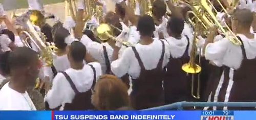 Texas Southern University band