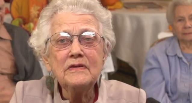 97 year old woman