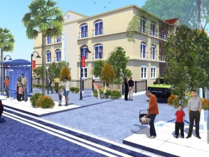 Artist Rendering of Willowbrook project