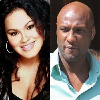 Lamar Odom and his ex-wife Liza Morales