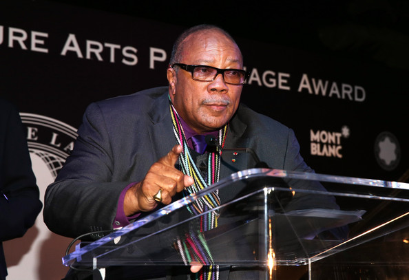 Composer-conductor Quincy Jones is 81 today