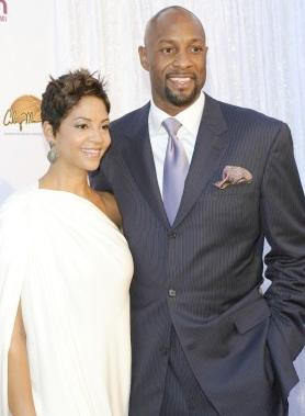 Tracy and Alonzo Mourning