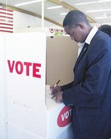 black male voting