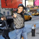 Morning Snaps: Brandy Spotted in New York City