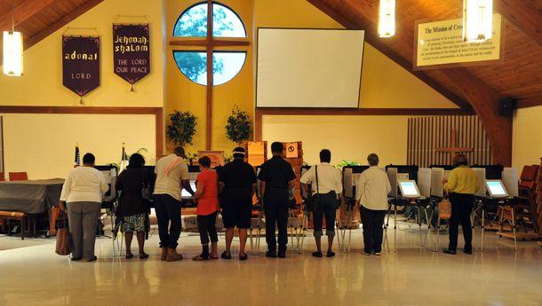 church vote