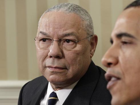 colin powell & barack obama