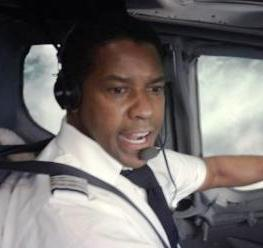 denzel washington flight