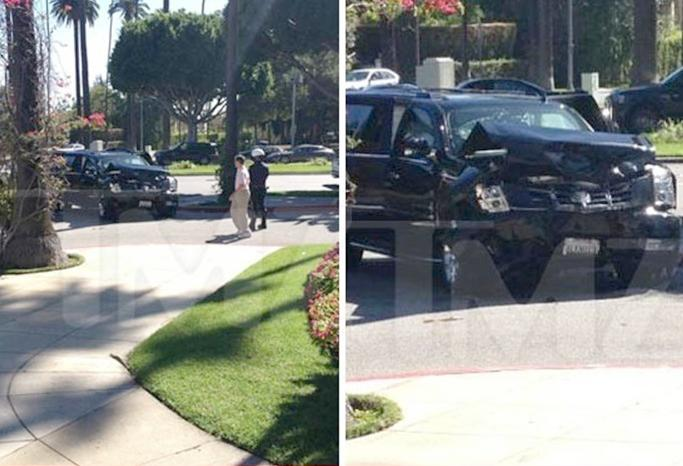 diddy car accident