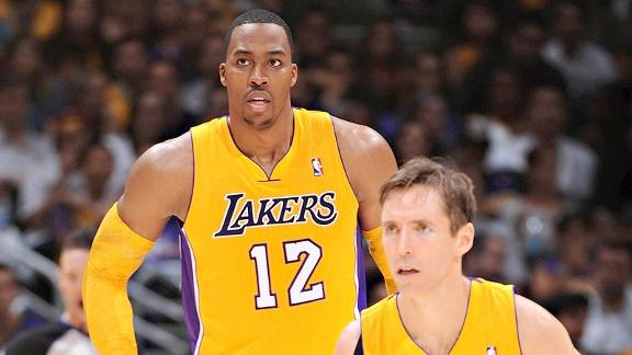 dwight howard &steve nash