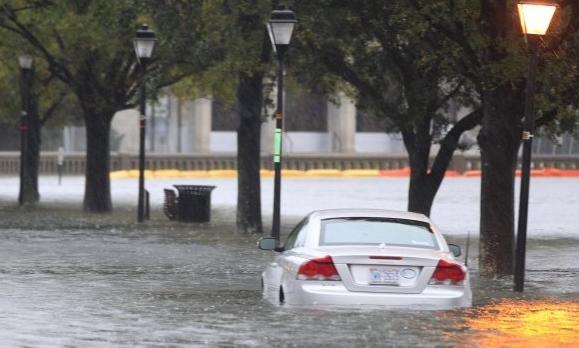 hurricane sandy (car flooding)