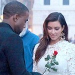 Kim K. Dressed for a Wedding? (Photos)