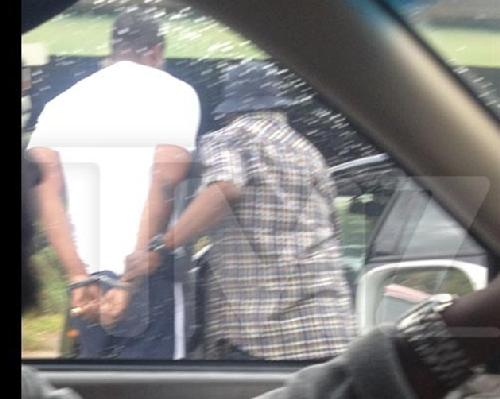 lil scrappy (being arrested)