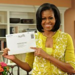 Michelle Obama Among Early Voters, Casts Ill. Absentee Ballot