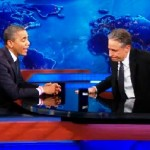 Obama Talks 'Off Night' Debate, More on 'Daily Show' (Video)