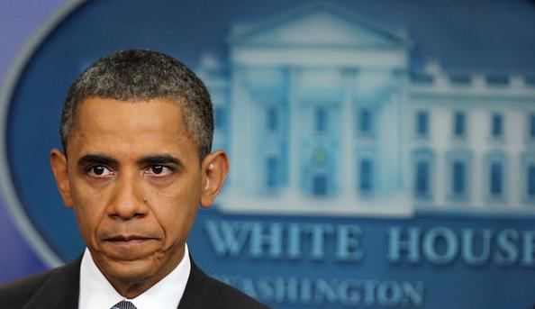 obama ( and white  house icon )