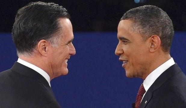 obama & romney(2nd debate)