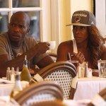 Morning Snaps! Ochocinco Johnson Dines w/ AJ Johnson