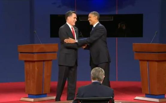 romney & obama (1st debate screenshot)