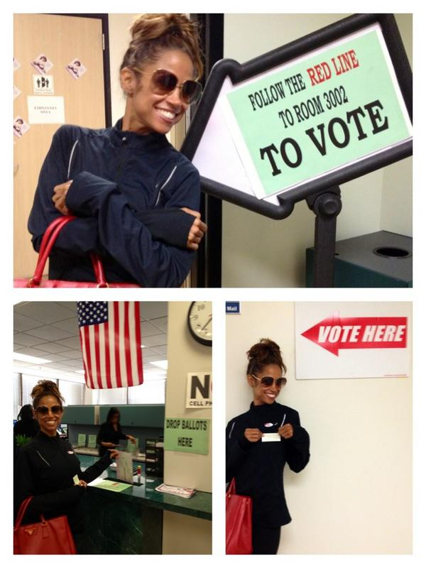 stacey dash voting