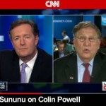 Colin Powell Endorses Obama Because He's Black …Says Top Romney Surrogate Sununu (Video)