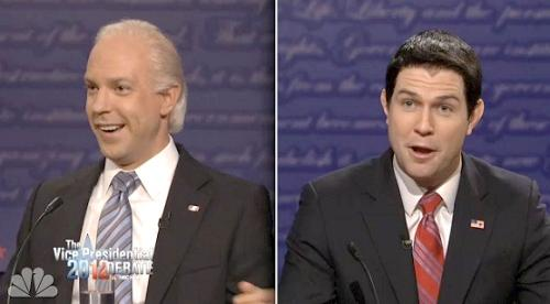 vp debate on snl